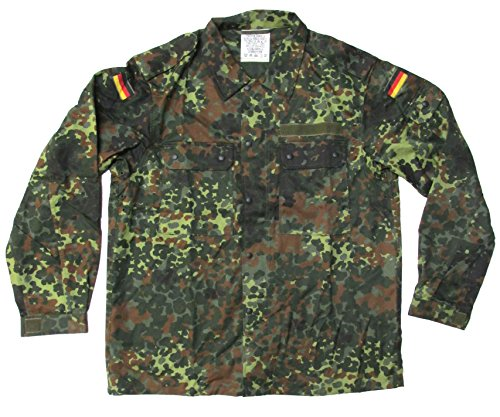 New Unissued German Army Jacket Flecktarn (German Camouflage)