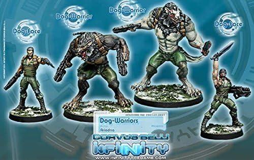 Ariadna Dog Warriors Miniature Corvus Belli