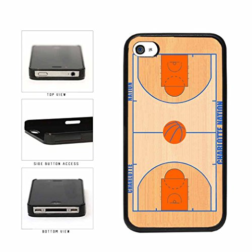 Charlotte Nation Plastic Phone Case Back Cover iPhone 4 4s (Jordan Case Michael Iphone 4s)