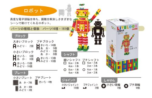 Li block select series robot (japan import) by Book loan by Book loan (Image #2)