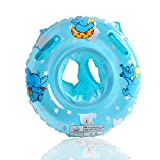 Bath Seat for Toddler StillCool Baby Kids Toddler Inflatable Swimming Swim Ring Float Seat Boat Pool Bath Safety (Blue)