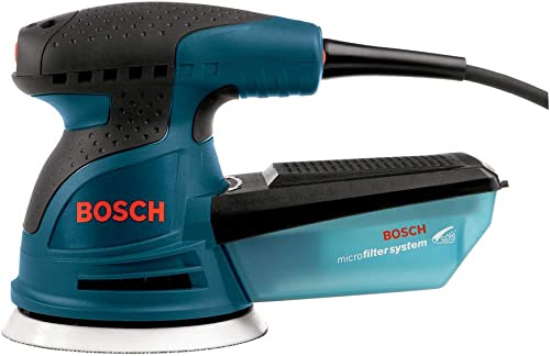 Factory-Reconditioned Bosch ROS20VSC-RT 5 in. VS Palm Random Orbit Sander Kit