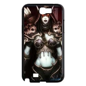 World of Warcraft Samsung Galaxy N2 7100 Cell Phone Case Black JU0025346