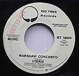 Osiris 45 RPM Warshaw Concerto / Warshaw Concerto