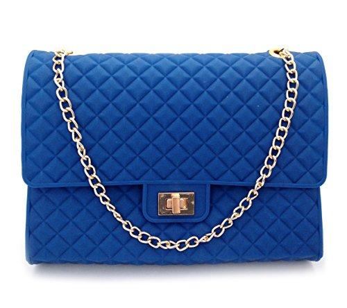 Outlook Design Bolso bandolera, Blu (Azul) - V9G0T00700