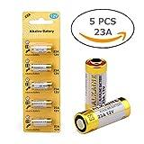 23A 12V Alkaline Battery (5-pack)
