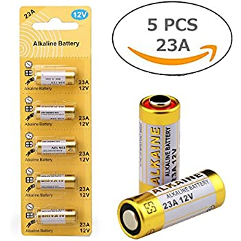 LiCB 23A 12V Alkaline Battery (5-Pack)