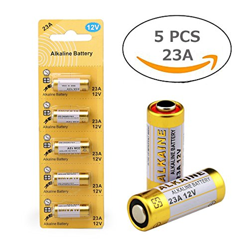 Battery 23a (LiCB 23A 12V Alkaline Battery (5-Pack))