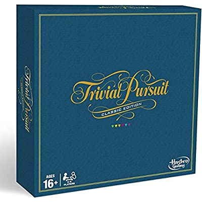 Hasbro Gaming Trivial Pursuit Game: Classic Edition: Toys & Games