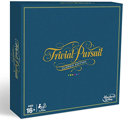 Hasbro Gaming Trivial Pursuit Game: Classic Edition (Adults Games Board For Classic)
