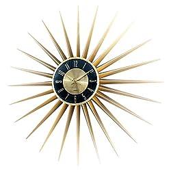 Stilnovo Sunburst Clock - Gold