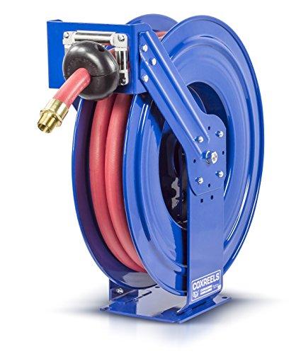 Reel Spring Rewind (Coxreels TSHF-N-635 Supreme Duty Spring Rewind Hose Reel for fuel: 1