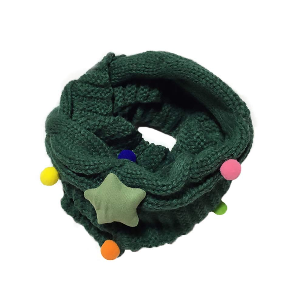Topsaire Children's Winter Knit All-Match Scarves Star Bib - Cold Winter Gives Your Angels a Little Warmth