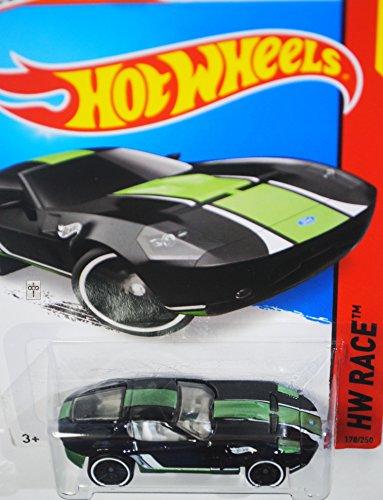 Gr Wheel (Hot Wheels, 2015 HW Race, Ford Shelby GR-1 Concept [Black] Die-Cast Vehicle #178/250)