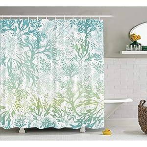 51PKpSHaAvL._SS300_ Beach Shower Curtains & Nautical Shower Curtains