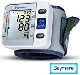 Best Wrist Blood Pressure Monitors - Baymore Health Digital Blood Pressure Monitor Wrist Cuff Review