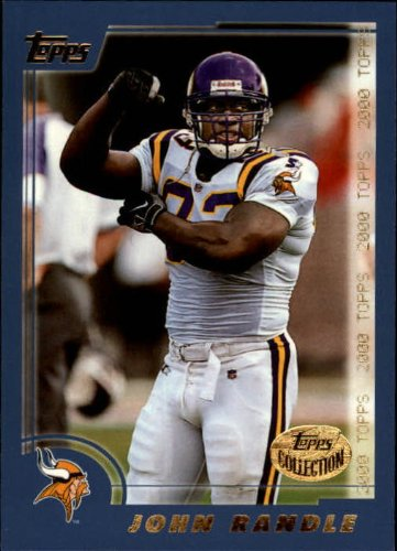 2000 Topps Collection Football Card #51 John Randle Near Mint/Mint 2000 Topps Collection
