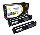 Catch Supplies CF230A - 30A Premium Replacement Black Toner Cartridge Two Pack Compatible with HP LaserJet Pro M203dw, M203dn, M203d, MFP M277sdn, M227fdw, M277fdn - 1,600 Yield