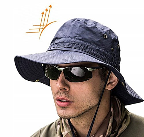 e9d5efbe633 Jual Super Wide Brim Sun Hat-UPF50+ Waterproof Bucket Hat for ...