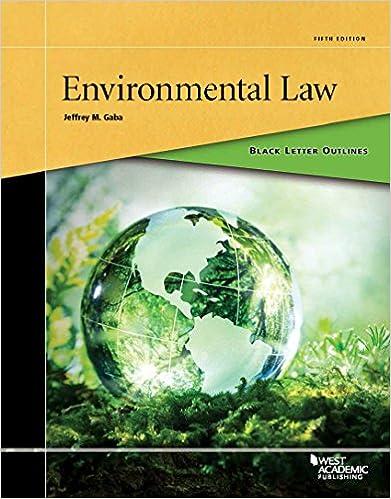 Law ebook environmental