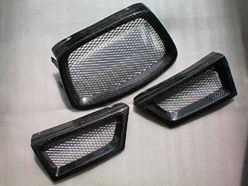 Grille Fiber Carbon - Carbon Fiber Grilles For Subaru Impreza WRX STI 2006-2007