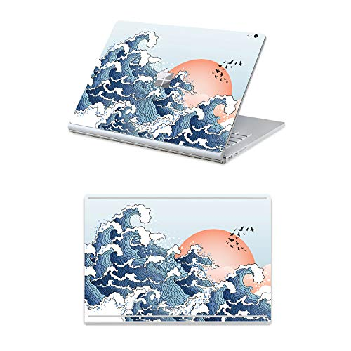 (Masino 2 in 1 Protector Sticker Decal Protective Laptop Cover Skin for 13.5