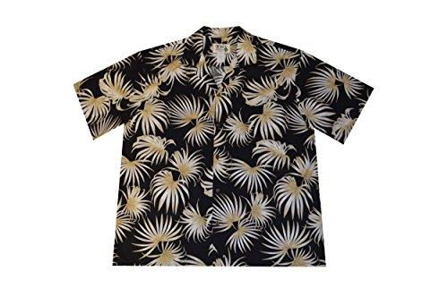 Leaves Mens Aloha Shirt - 5