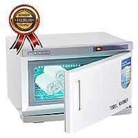KOVAL Professional Towel Warmer Cabinet with Uv Light Sterilizer, Salon Spa Quality, 16 L