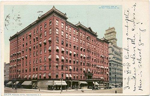 Historic Pictoric Postcard Print | Powers Hotel, Rochester, N. Y, 1898 | Vintage Fine Art