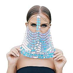 Pearl 01 Masquerade Mask Chain