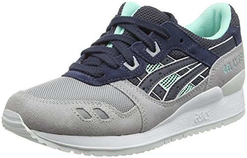 India Ink One Asics Unisex Lyte Ink III Black India Running Shoes Adults' Gel Size Tvq8xPT