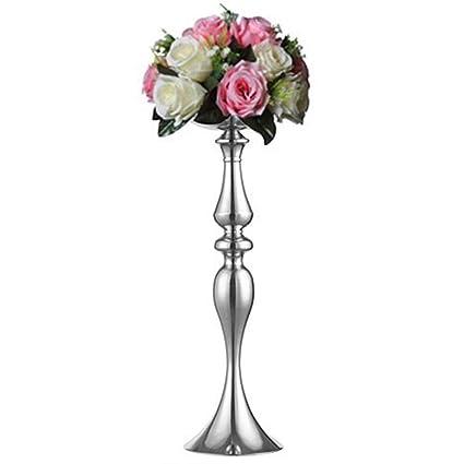 Terrific Sfeexun 1 Pcs Elegant Tall Mermaid Wedding Flower Column Display Metal Standing Flower Arrangement Pedestals As Road Lead Flower Stand For Wedding Interior Design Ideas Tzicisoteloinfo