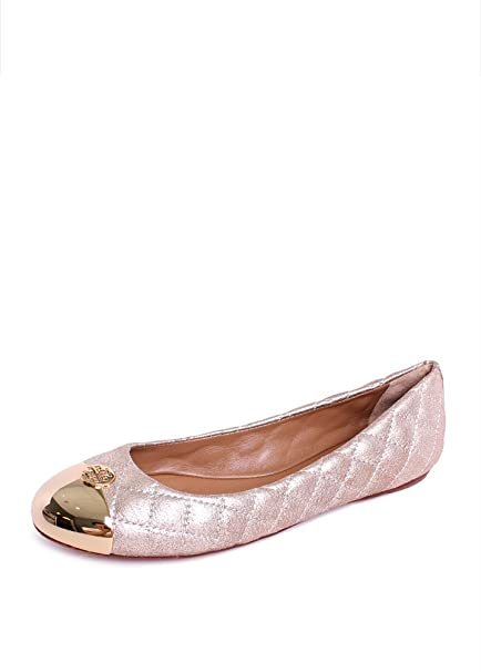 ccea0780417 Amazon.com   Tory Burch Tumbled Leather Reva Ballet Flat   Flats Shoes    Everything Else