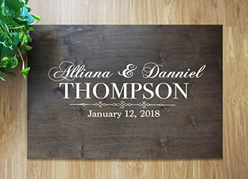 FAST SHIPPING Wedding Guest Book Rustic Wooden Guest Book Sign Custom Guest Book Sign Guest Book Wedding Alternative Rustic Wood Guestbooks Rustic Wooden Printing on Canvas Wedding Decorations #D7