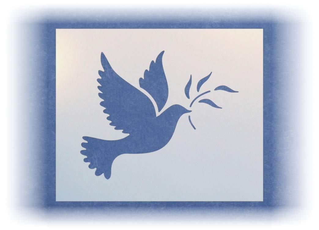 Dove Stencil The Artful Stencil
