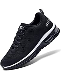 Men's Air Athletic Tennis Shoes Gym Running Walking Sport Sneakers Fashion Lightweight Breathable Workout Footwear