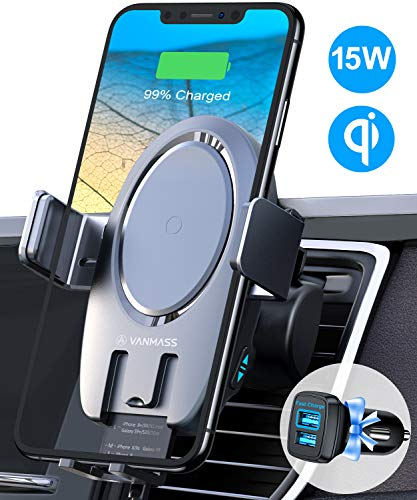 VANMASS Wireless Car Charger Mount