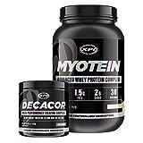 Myotein Protein Powder (Vanilla, 2Lb) & Decacor – Best Whey Protein Powder / Shake – Hydrolysate, Isolate, Concentrate & Micellar Casein