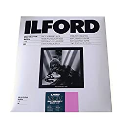 Ilford Multigrade IV RC Deluxe Resin Coated VC Variable Contrast Black & White Enlarging Paper - 8x10\