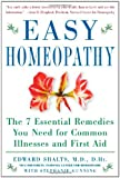 Easy Homeopathy, Edward Shalts, 0071457585