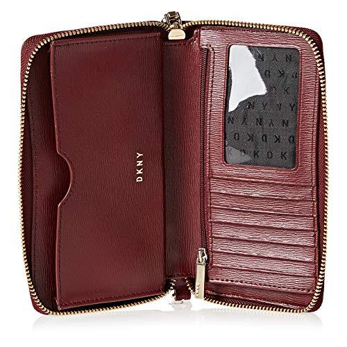 DKNY Bryant Genuine Leather Sutton Wristlet Purse: Amazon.es ...