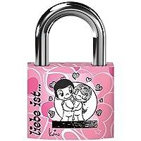 Basi Liebe ist. Liebesschloss, Design rosa, 6180-4120