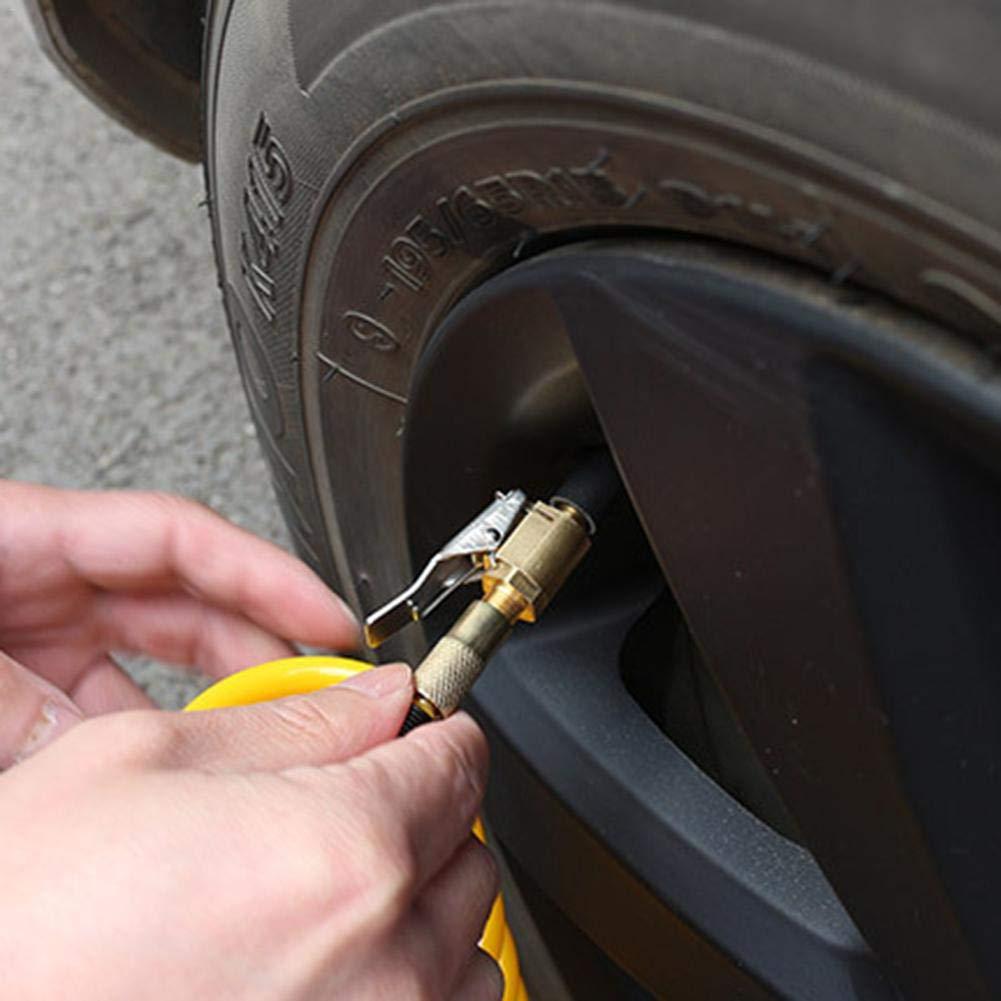 8MM Car Air Pump Nozzle Adapter Truck Tire Inflator N0T8 X1S7 Connector Q3V9