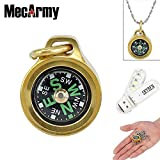 Best Brass Compasses - MecArmy CMP Compass Waterproof Hiking Military Navigation EDC Review