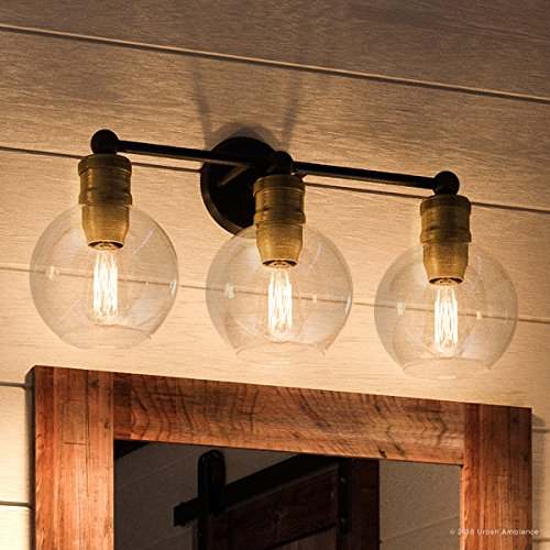 (Luxury Vintage Bathroom Vanity Light, Large Size: 10.875