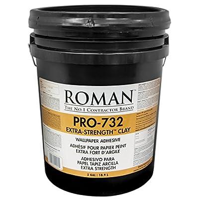 Roman 010005 PRO-732 5 gal Extra Strength Wallpaper Adhesive