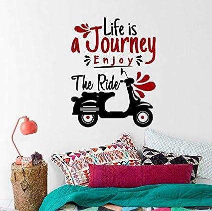 Amazon.com: imouSde Life is Journey Enjoy The Ride ...