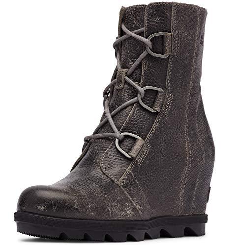 Sorel - Women's Joan of Arctic Wedge II Ankle Boot, Quarry, 8 M US