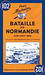 Michelin Battle of Normandy Map No.102
