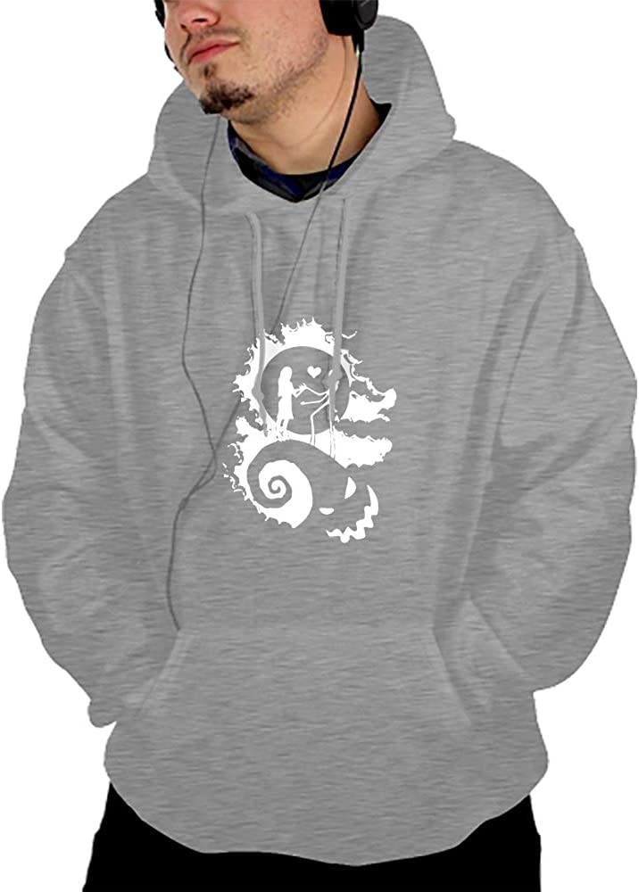 Harooni Mens Long Sleeve Lightweight Hoodie with Pocket Cry